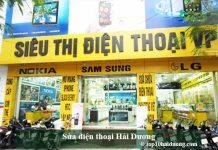 Sửa điện thoại Hải Dương